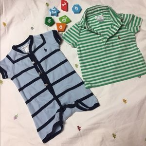 Ralph Lauren baby clothes 2 piece 6M